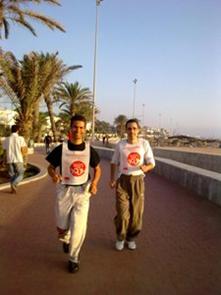 Adecco Agadir Win4youth sur le bord de l'Ocean