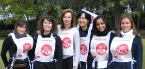 A Nantes Adecco Medical part pour son Run @win4youth